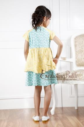 AN.20044 Kania Batik Kids Dress  2/3y 8/9y