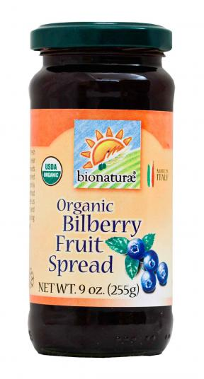 Bionaturae Organic Bilberry Fruit Spread 255g