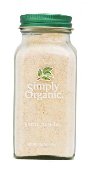 Simply Organic Organic Garlic Powder Bottle 103g