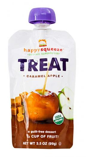 Happy Baby Treat Caramel Apple 99g