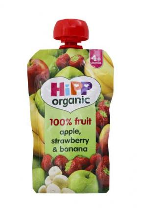 Hipp Apple, Strawberry & Banana 100g