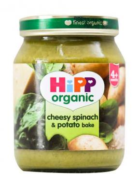 Hipp Cheesy Spinach & Potato Bake 125g