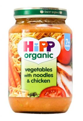 Hipp Vegetables With Noodles & Chicken 190g