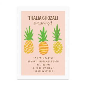 Ananas (Kids Birthday Set of 6)