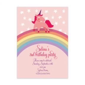 Little Unicorn (Kids Birthday Set of 6)