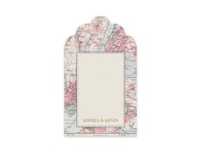 Vintage Map City (Gift Tag Set of 12)