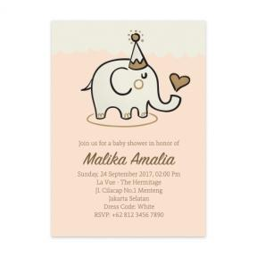 Baby Elephant (Baby Shower Set of 6)