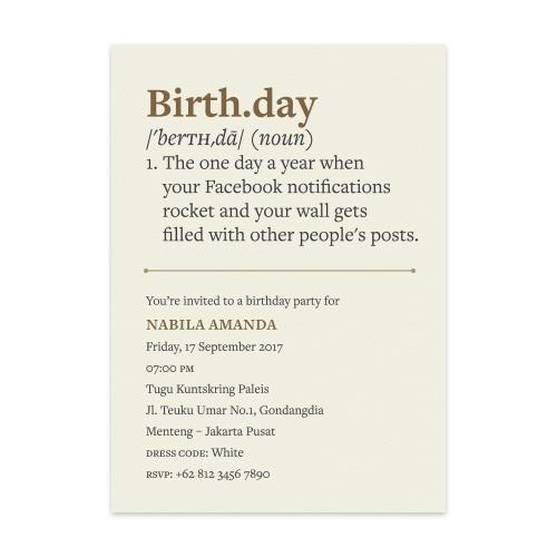 Papermark noun adult birthday set of 6 stopboris Choice Image