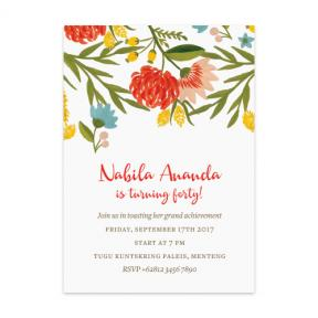 Summer Vibe Festive (Adult Birthday Set of 6)