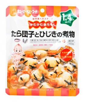 Kewpie Simmered Codfish And Hijiki (16mth+) 100g