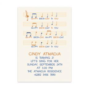 Music Sheet (First & Babies Set of 6)