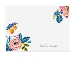 Summer Vibe Tangerine (Note Cards Set of 6)