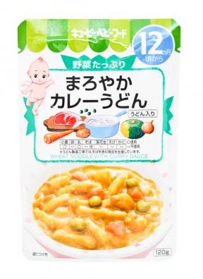 Kewpie Wheat Noodle With Curry Sauce (12mth+) 120g