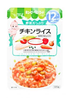 Kewpie Chicken Rice (12mth+) 120g