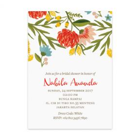 Summer Vibe Festive (Bridal Shower Set of 6)