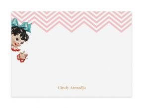 Happy Girl (Note Cards Set of 6)