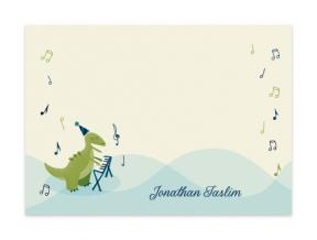 Singing Dinosaur (Note Cards Set of 6)