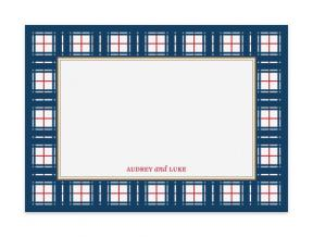 Nifty Plaid (Note Cards Set of 6)