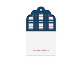 Nifty Plaid (Gift Tag Set of 12)