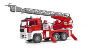 Bruder Toys 2771 - MAN TGA Fire engine with ladder, water pump and L & S Module