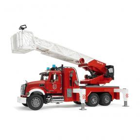 Bruder Toys 2821 - MACK Granite Fire Engine With Slewing Ladder And Water Pump