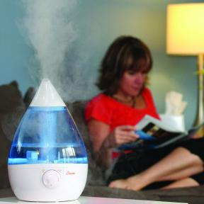 Crane USA Dropshape Blue/White Cool Mist Humidifier