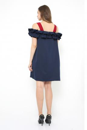 Saphire Dress in navy