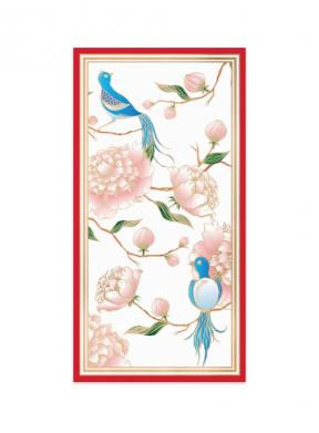 Chinoiserie Peony (Money Envelope Set of 12)