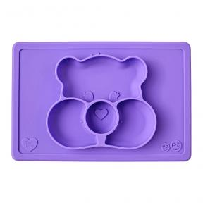 EZPZ Care Bears Mat Share Bear in Purple