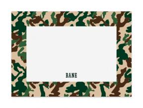 Street Camo (Note Cards Set of 6)