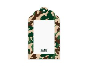 Street Camo (Gift Tag Set of 12)