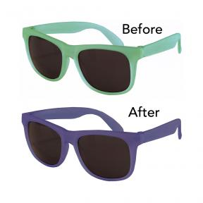 Real Shades Toddler 2+ Switch Green Blue Sunglasses