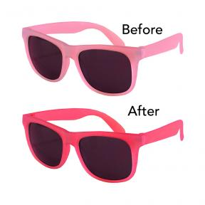 Real Shades Youth 7+  Switch Light Pink Pink Sunglasses