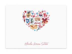 Lovey Dovey (Note Cards Set of 6)