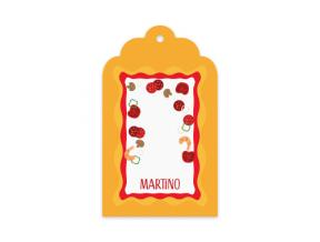 Pepperoni (Gift Tag Set of 12)