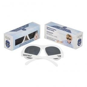 Babiators Wicked White Classic Ages 3-7 Sunglasses