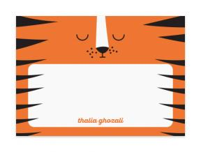 Sleeping Tiger (Note Cards Set of 6)