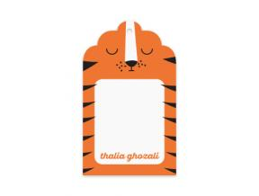 Sleeping TIger (Gift Tag Set of 12)