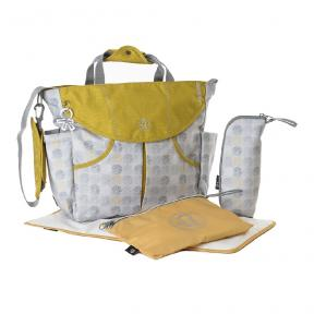 Okiedog Sumo Dot Dot Dot Grey/Gold