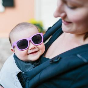 Babiators Purple Reign Junior Ages 0-3 Sunglasses
