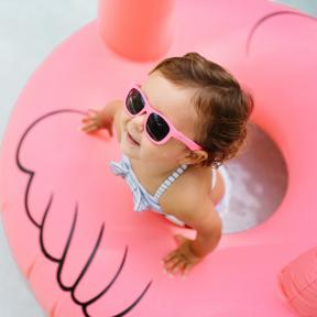 Babiators Think Pink! Junior Ages 0-2 Sunglasses