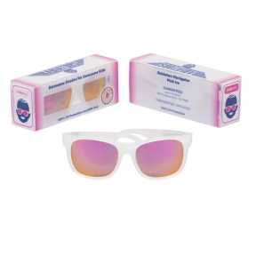 Babiators Pink Ice Classic Ages 3-5 Sunglasses