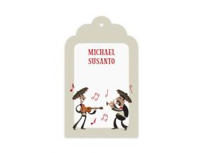 Merry Mariachi (Gift Tag Set of 12)