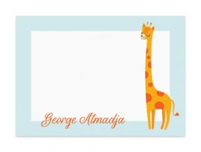 Grande Giraffe  (Note Cards Set of 6)