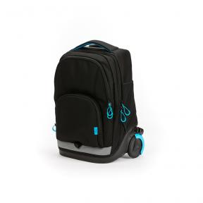 Stardust 2 in 1 Backpack and Trolley Black