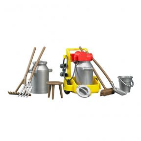 Bruder - 62603 Accessories: Milking Set