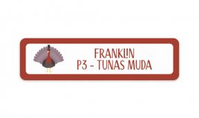 Turkey Trouble (Stickers Set of 4)