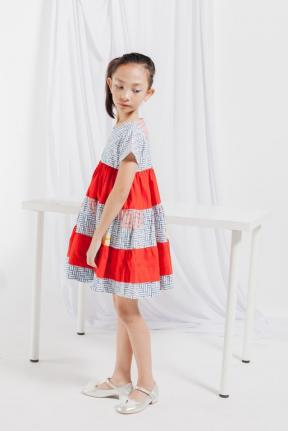 EKids.201806 Bluered Alexa Kids Dress