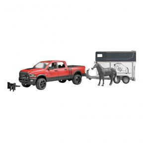 Bruder Toys 2501 - RAM 2500 Power Wagon with Horse Trailer