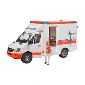 Bruder Toys 2536 - MB Sprinter Ambulance with Driver